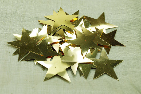 Large Bronze Star Sequins