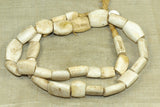 strand of antique shell beads from Nigeria