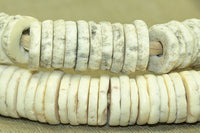 Vintage Ostrich Shell Beads from Kenya