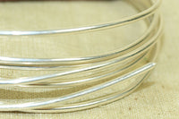 Round Sterling Silver Wire, 14 Gauge soft