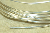 Round Sterling Silver Wire, 16 Gauge soft