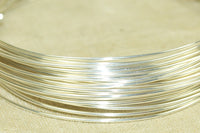 Round Sterling Silver Wire, 20 Gauge soft
