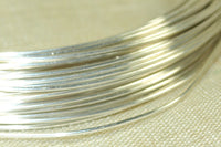 Round Sterling Silver Wire, 22 Gauge soft