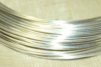 Round Sterling Silver Wire, 24 Gauge soft