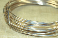 Round Sterling Silver-filled Wire, 16 Gauge soft