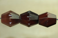 Idar-Oberstein Faceted Bicone bead