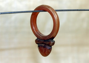 BACK IN STOCK!  Bakelite Ring Fetish from Tuareg People of Mauritania