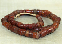 Strand of Ancient Carnelian Stone Beads from Mali