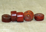Set of Small Ancient Carnelian Stone Beads from Mali