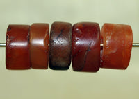 Set of Ancient Carnelian Beads from Mali