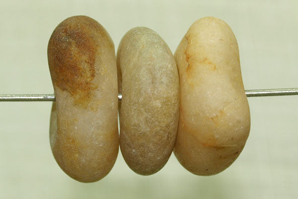 "Ancient Beige Agate ""Biscuits"", Medium"