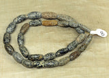 Beautiful Short Strand of Ancient Granite Beads Djenne, Mali