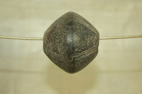Large Ceramic Spindle Whorl Bead from Dogon Tribe, B