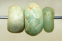 Three Ancient Amazonite Beads