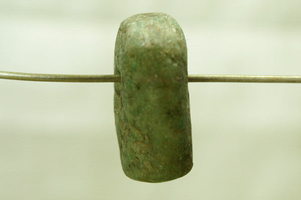 Ancient Chunky Amazonite Pendant