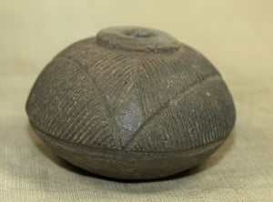 Old and Unique Dogon Spindle Ceramic Bead