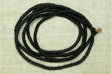Antique Czech Black Seed Beads, 12º