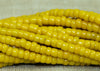 Opaque Corn Yellow Seed Beads, 11º