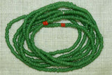 Antique Greasy Green 11º Seed Beads