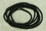 Antique Czech Black Seed Beads, 11º