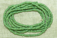 Minty Green Seed Beads, 10º