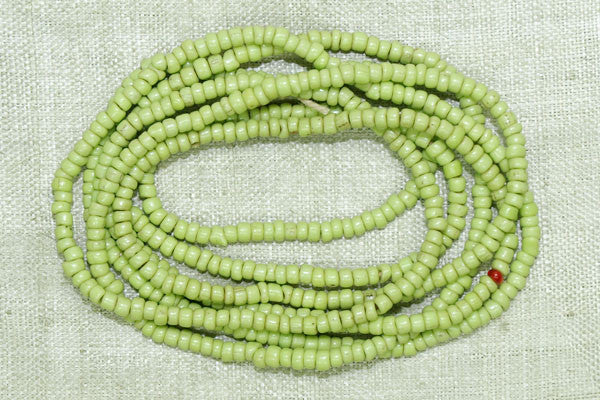 Chartreuse Seed Beads, 8º