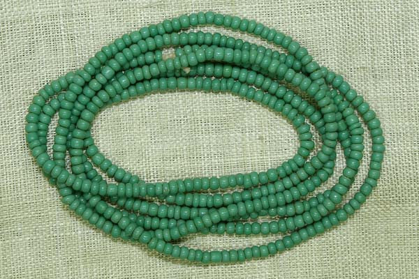 Teal Opaque Seed Beads, 11º