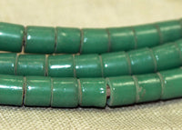 Green Seafoam Tile Beads