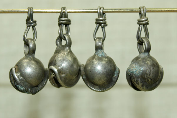 Four Silver Drops from India