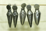 Set of Silver Pepper/Dagger Drops from India