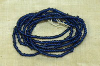Semi-Opaque Royal Blue Seed Beads, 10º