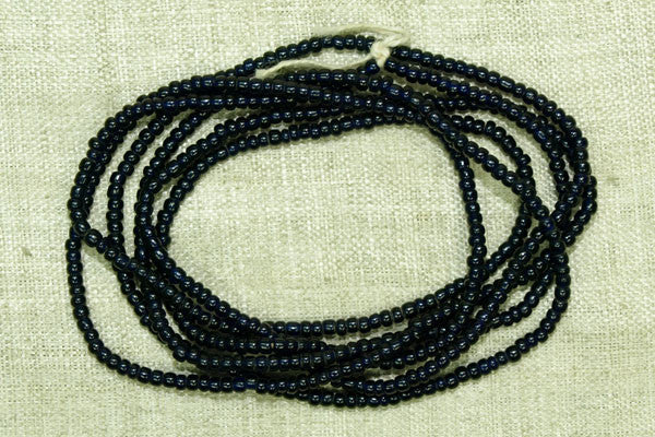 Very Dark Cobalt Seed Beads, 12º
