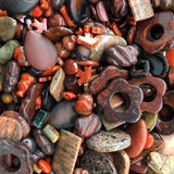 Red and Poppy Jasper Mix