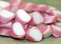 Vintage German Pink Window Beads from the 1940s