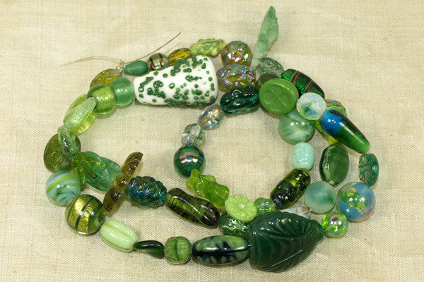 Strand Vintage Green Glass - Amazing Collection!