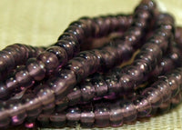 Czech-made Mini Hank 16º Light Amethyst Seed Beads