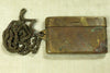 Vintage Brass ID Box with Chain