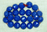 1920s Royal Blue Glass Nailheads