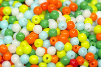 Colorful, Vintage 1960s German-made 2mm Seed Beads