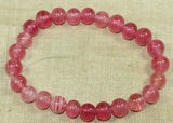 Deep Pink Japanese Glass Beads