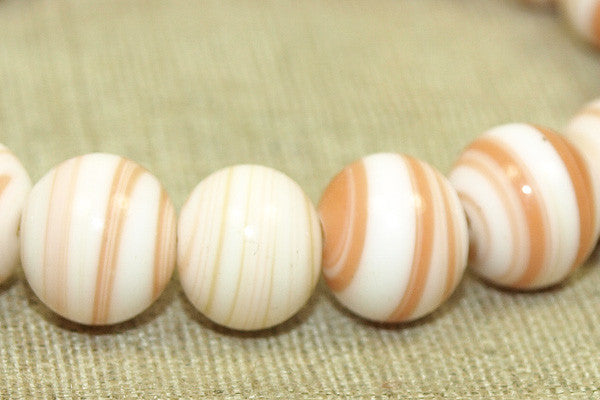 Vintage Japanese 8mm Glass Beads