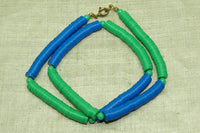 Vintage Necklace of 80s Plastic
