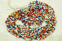 Italian 11º Multi-Color Seed Beads, hank