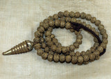 Vintage Yoruba Fabricated Brass Beads and Pendant