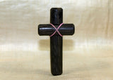 Black Palmwood Cross; Lou Zeldis Collection