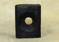 Black Palmwood Component Pendant; Lou Zeldis Collection
