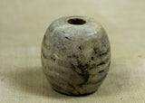 Ancient Greenish Stone Bead from Indonesia; Lou Zeldis Studio
