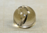 Gorgeous, High quality Quartz Crystal Ball; 23mm