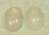 Pair of Australian Opal Cabochons, 2 grams, from the Lou Zeldis Collection