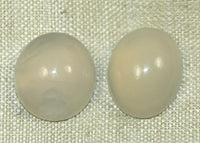 Pair of Australian Opal Cabochons, 3 grams, from the Lou Zeldis Collection